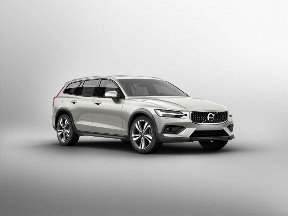 Volvo V60 Cross Country - bok